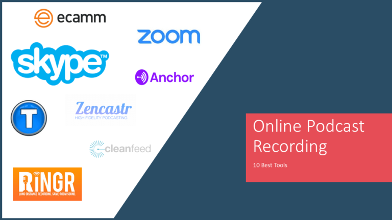 Online Podcast Recording : 10 Best Tools for remote call & interview recording