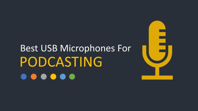 Best USB Microphones For Podcasting & Voice Recording