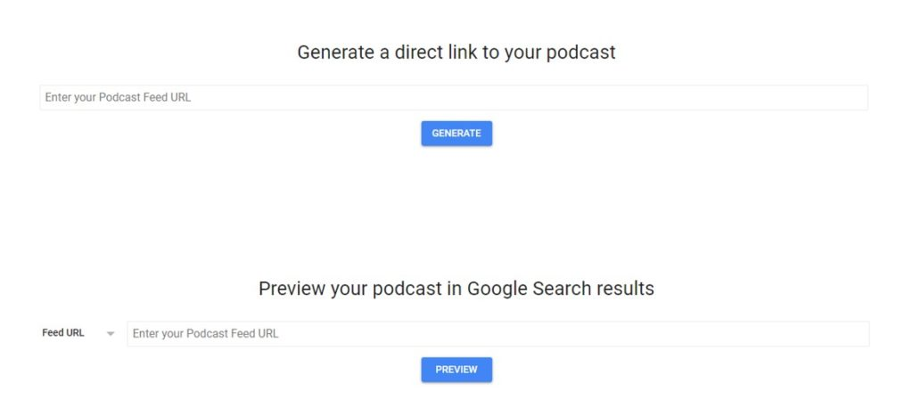 Submit Your podcast to Google Podcasts